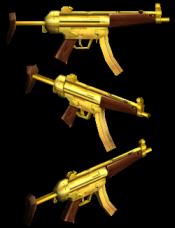 [ZP] Extra VIP - Golden MP5
