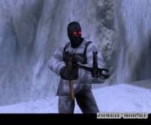 Arctic with mask and nvg