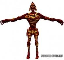 Fire Mummy [by Zombie]