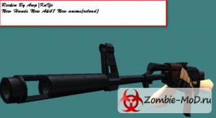 Ak47 с новой анимацией перезарядки + новые перчатки+новое ак47