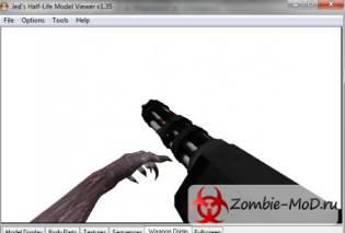 [CSO] Hands Zombie Minigun