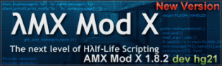AMX Mod X 1.8.2 dev hg 21 [Windows and Linux]