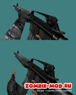 Скины стандартных рук оружий + новые вариации скинов нескольких оружий