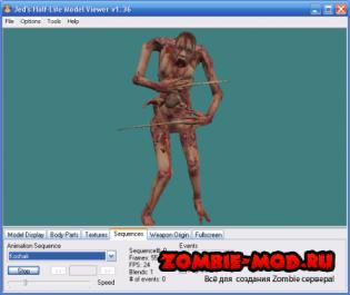 Zombie Model Necromorph Dead Space