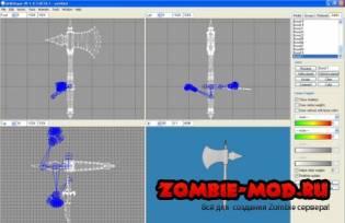 Как конвертировать модели из игры TES IV: Oblivion