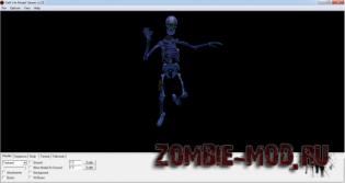 Sceleton zombie