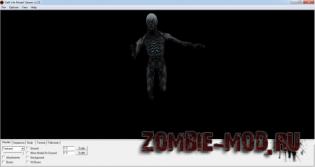 Модель зомби из Mass Effect