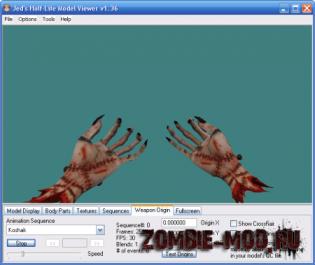 Model Hands Obrubok