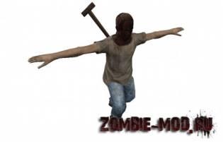 Модель игрока с лопатой