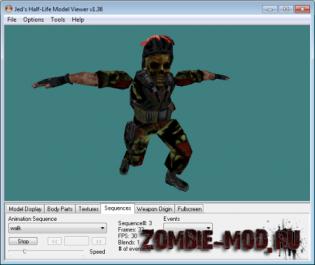 HLWE Zombie Models