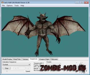 Model Zombie/Demon Garg