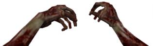 2 Head Ghoul Hands