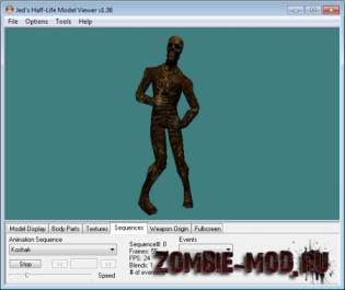 Models/Skins Zombie UTZ Pack