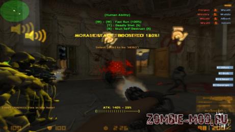 [CS1.6] Zombie 5: Evolution
